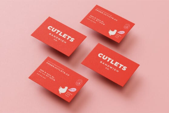 cutlets business cards