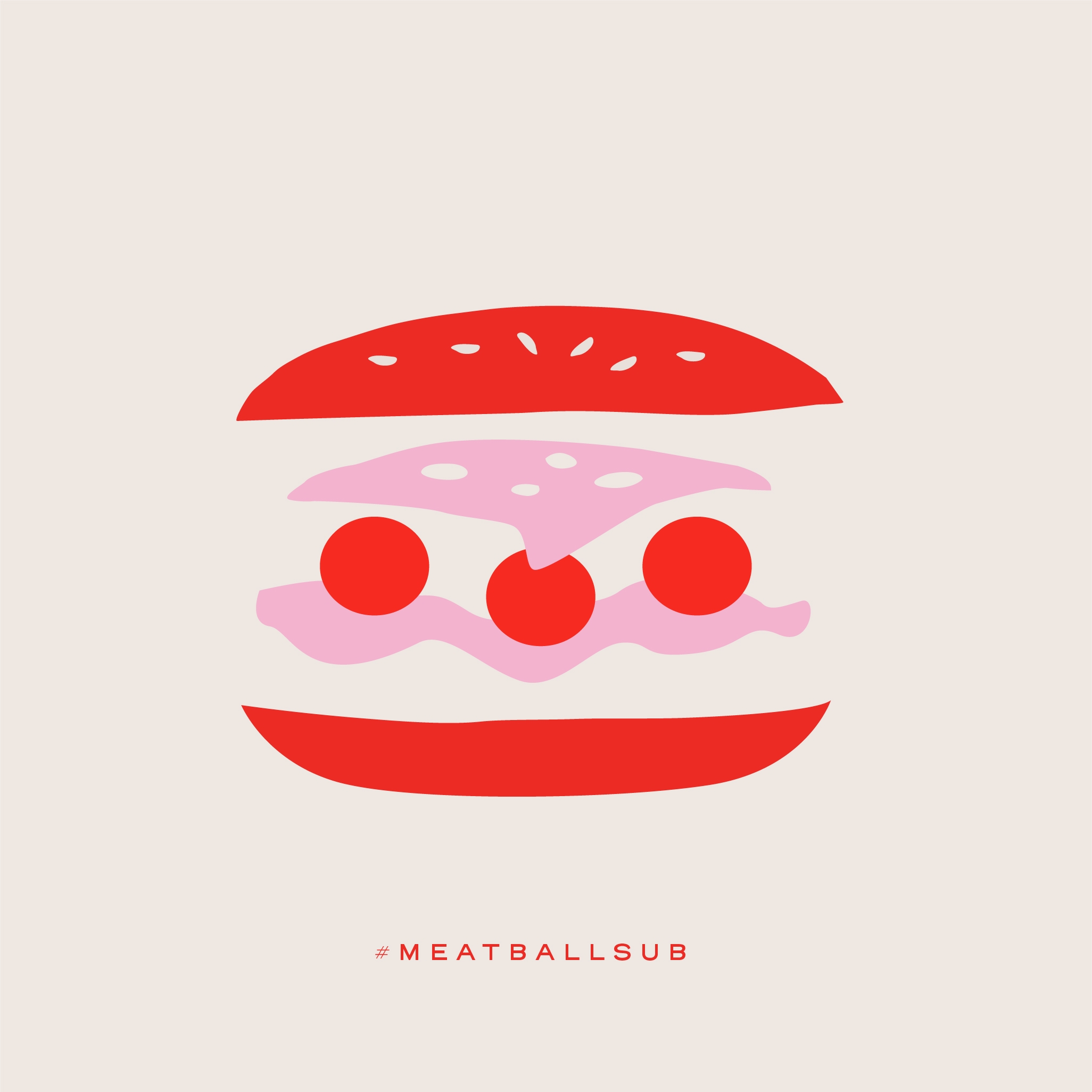 a meatball sub graphic