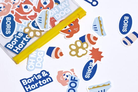 boris & horton branded graphics and stickers
