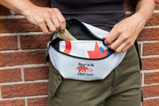 boris & horton branded fanny pack
