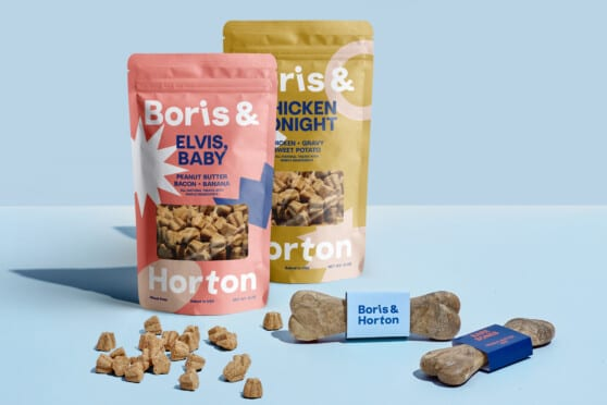 boris and horton dog treats graphic